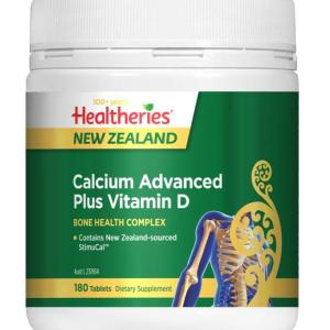 Healtheries Calcium Advanced Plus Vitamin D Tab X 180