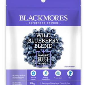 Blackmores Wild Blueberry Blend + Nature Boost Vitamin C 90g