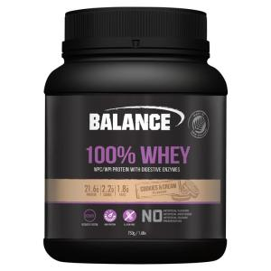 Balance 100% Whey Natural Cookies & Cream 750gm