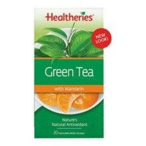 Healtheries Green Tea with Mandarin 20 teabags