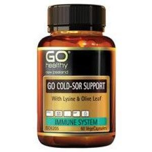 GO Healthy Go Cold-Sor Support 60 vegecaps
