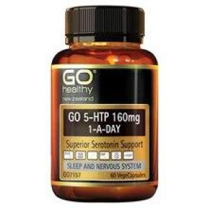 GO Healthy Go 5-HTP 160mg 1-A-Day 30 vegecaps