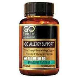 GO Healthy Go Allergy Support 60 vegecaps