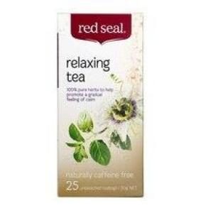 Red Seal Relaxing Tea 25 teabags