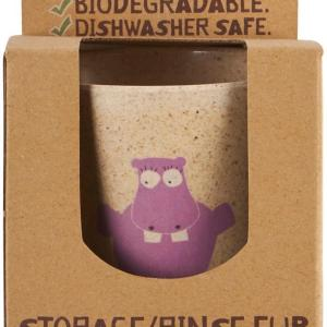 Jack N' Jill Storage/Rinse Cup – Hippo (Biodegradable Cup)
