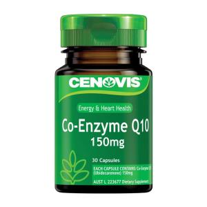 Cenovis Co-Enzyme Q10 150mg Cap X 30
