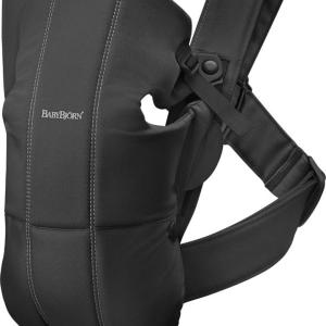 BabyBjorn Baby Carrier Mini – Black Cotton