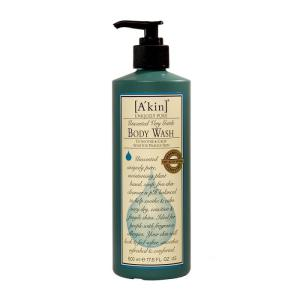 A'Kin Body Wash Unscented Very Gentle 500ml