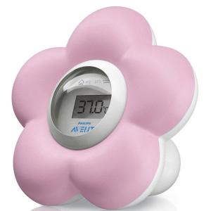 Avent Digital Bath and Bedroom Thermometer (Pink)