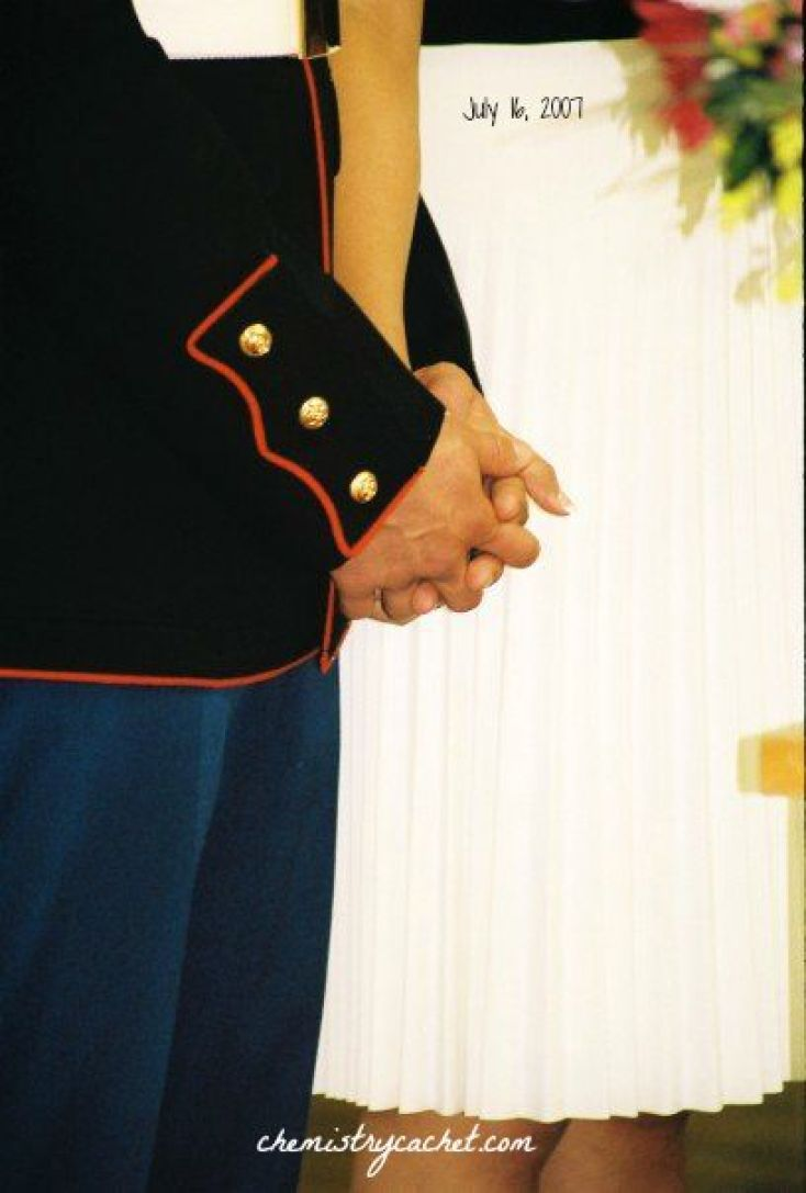 Marine Corps Love Story chemistrycachet.com