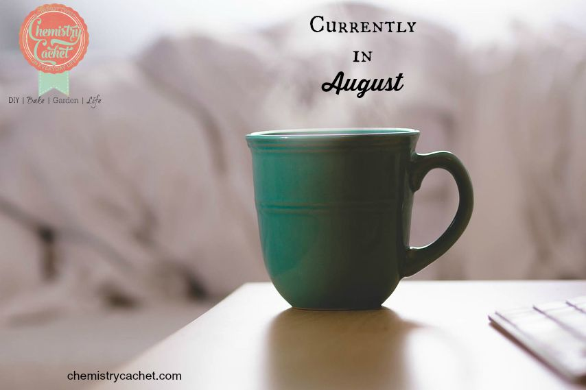 What I am up to in August on chemistrycachet.com