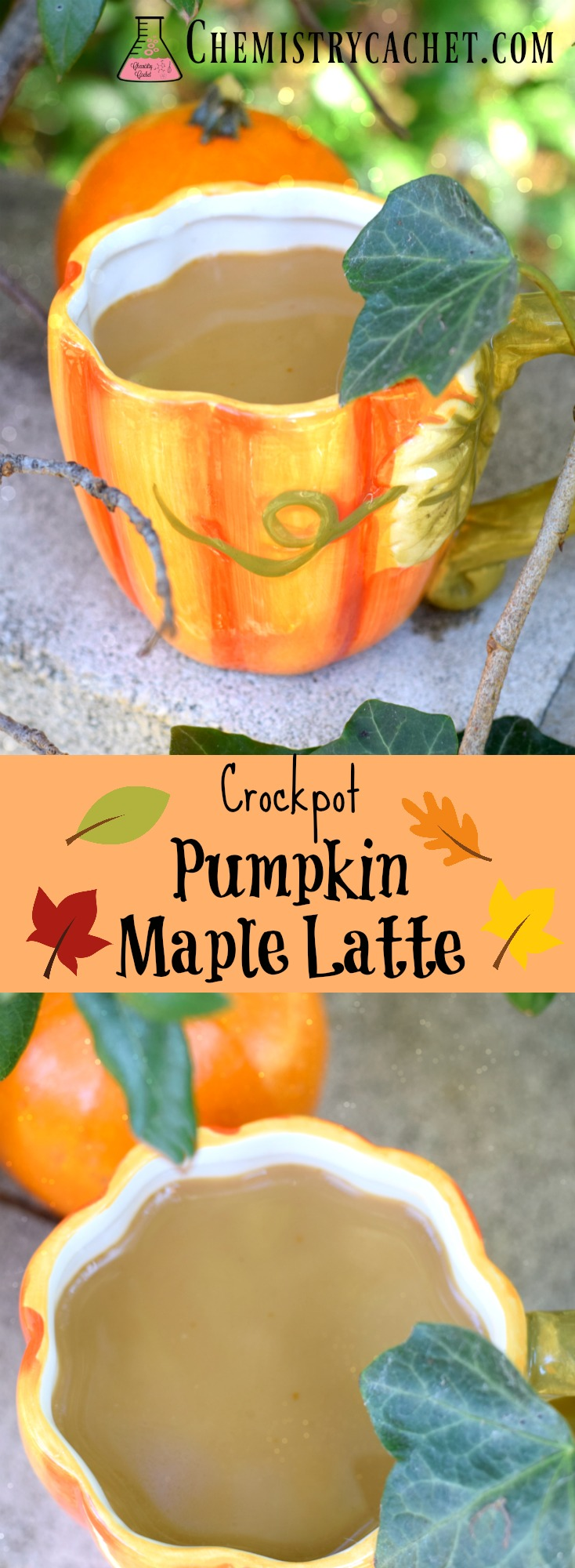 Easy Crockpot Pumpkin Maple Latte Recipe. Crockpot pumpkin lattes full of delicious maple flavor, great for a party! Full of delicious ingredients with dairy- free options chemistrycachet.com