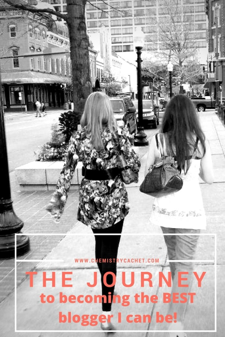 The Journey to becoming the best blogger I can be! Join me on this fun adventure!