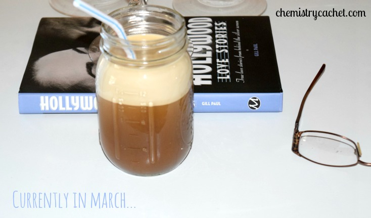 Currently in March...coffee..books..