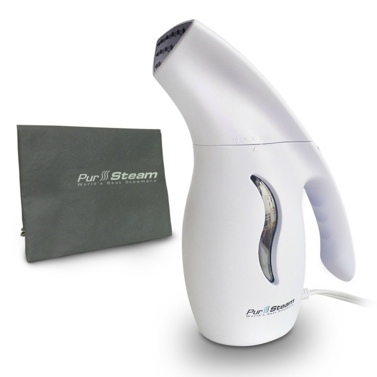 Currently loving this AWESOME tool for getting out wrinkles in any piece of clothing!