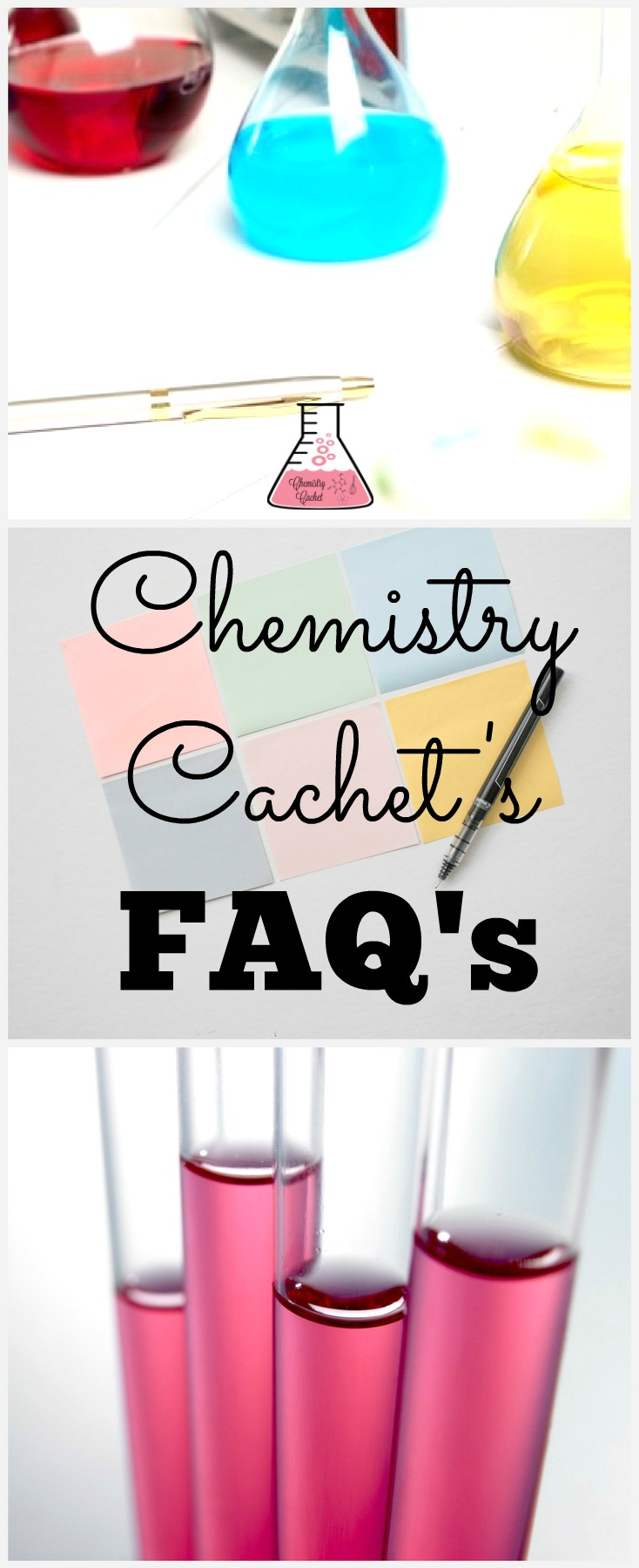 Chemistry Cachet's FAQ's