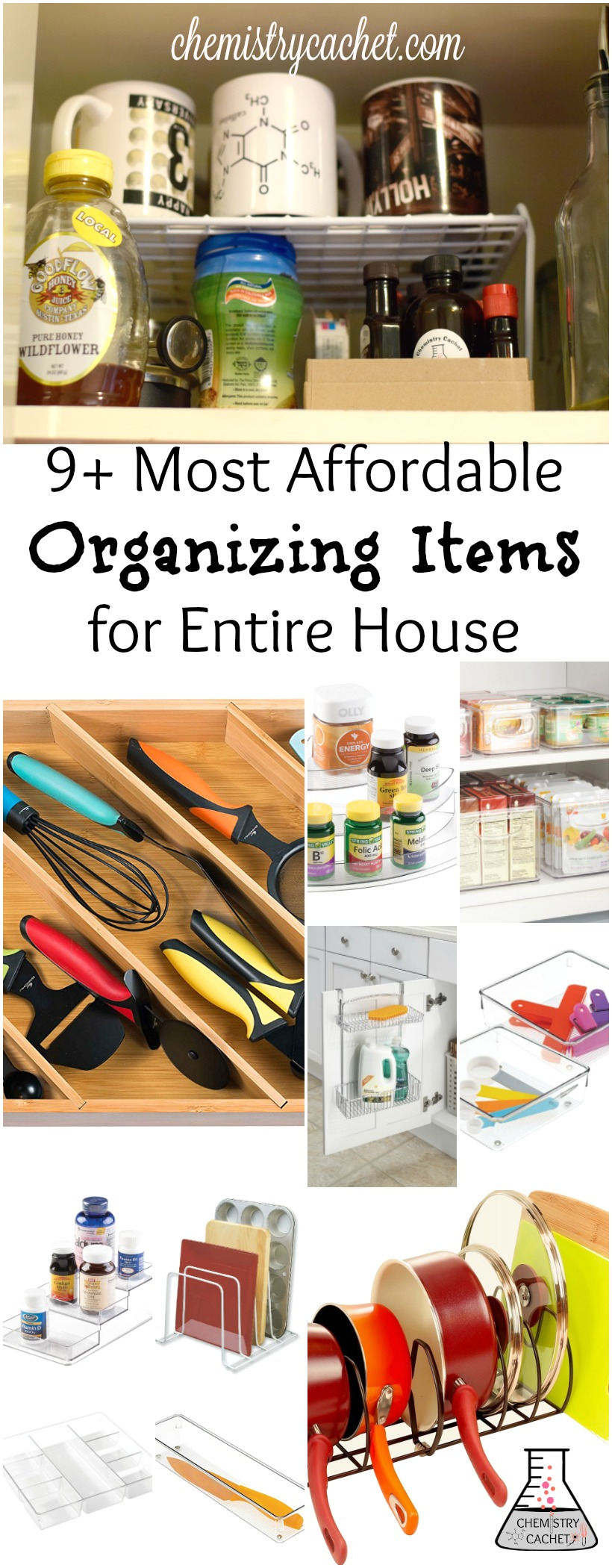 + Most Affordable Organizing Items for Entire House on chemistrycachet.com
