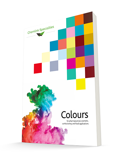 3d graphic of colours brochure