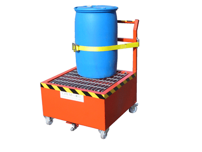 Steel-DT1| Bunded Drum Trolly