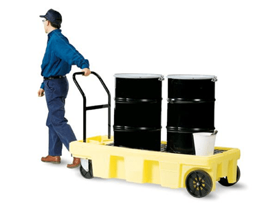 Poly Spill Cart| Bunded Drum Trolly