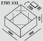 ET05 XXL | Ecco Tarp
