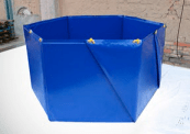 COLLAPSIBLE CONTAINMENT TANK | spill kits