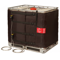 1000L IBC Drum Heating Jacket Black