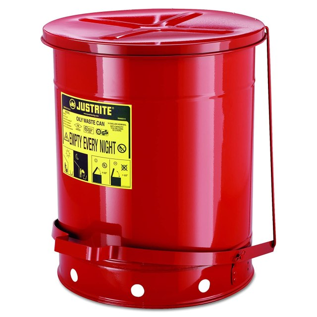 Justrite Flammable Safety Bin - 09500