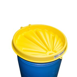 Poly Drum Funnel 3040 Yellow