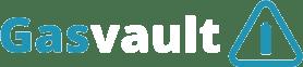 Gasvault logo white