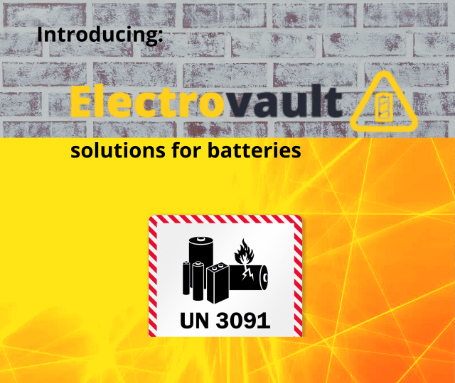 Electrovault Battery & Critical Equipment Stores
