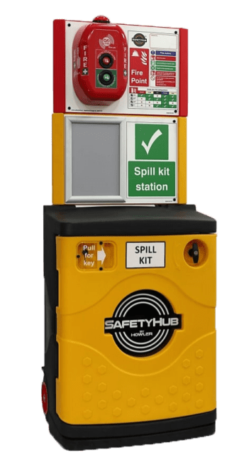 SafetyHub Yellow Closed