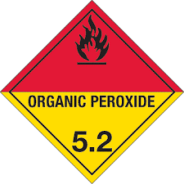 organic peroxide storage