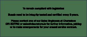 Chemstore service bund legislation