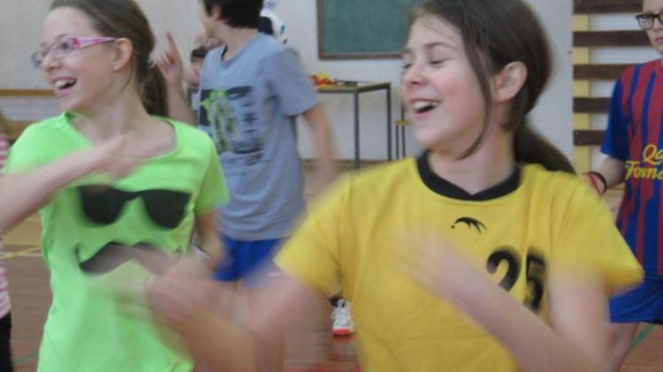 kungfu v osnovni šoli Bistrica
