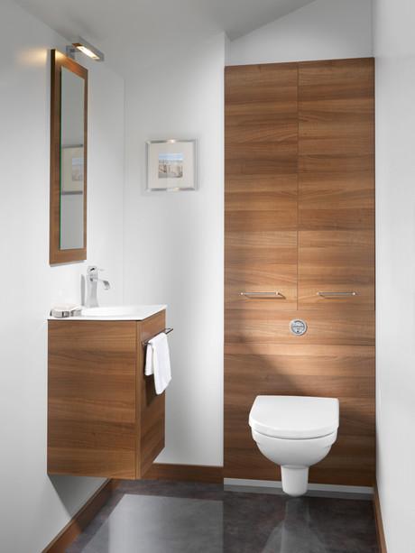 meuble wc suspendu ambiance bain avec