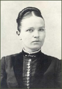 The young Mary Cook - Gift of Grace Perry Van Patten