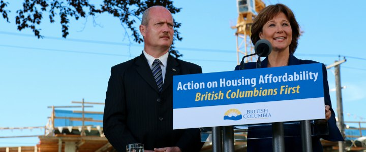 B.C. government offers down payment loans to first-time homebuyers