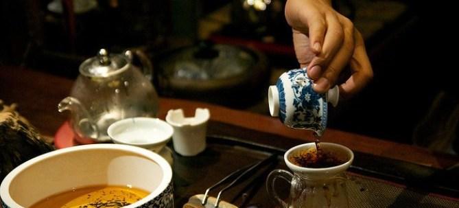 Cérémonie du thé en Chine