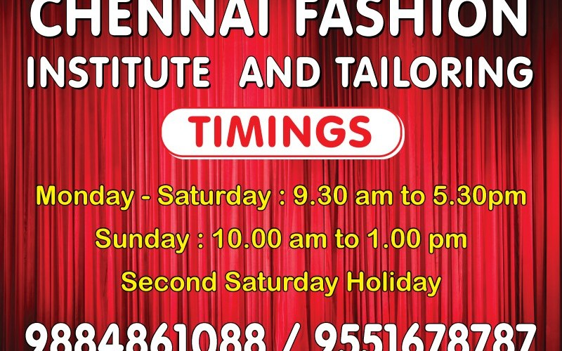 Contact Us Best Fashion Designing Institute In Chennai No 1 Tailoring School 95516 78787