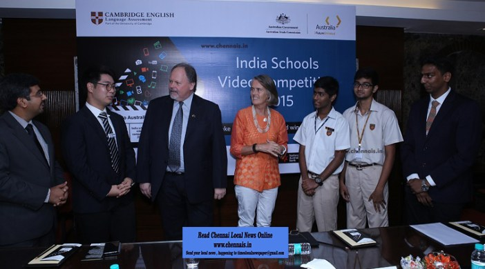 Young film makers from schools across the country get the chance to fly to Australia, awarded by Cambridge English Language Assessment – a department of the University of Cambridge – and the Australian Trade Commission in India.