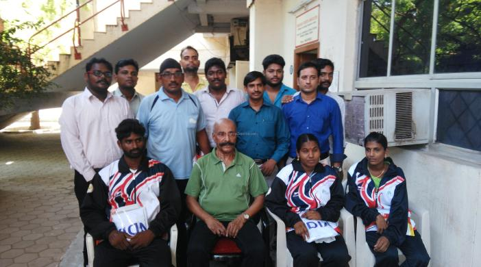 Valediction function for 3 differently-abled Judo champions was held at Nehru Stadium, Chennai