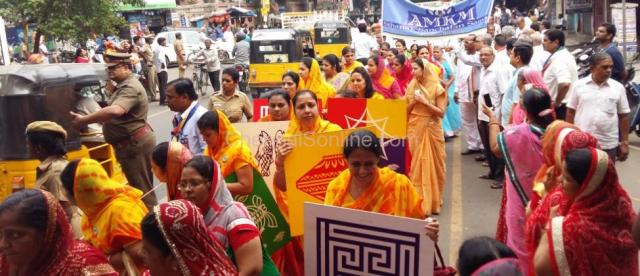 WOMENs WING AT GRAND PROCESSION AT PURASAIWALKAM