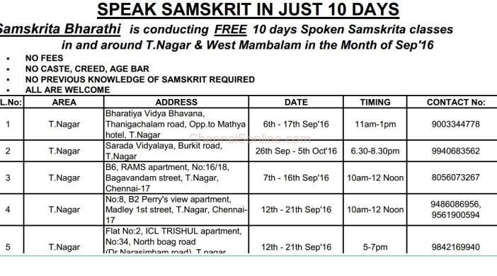learn Samskrit