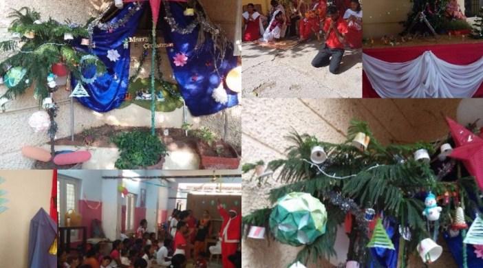 Christmas Celeberations Special School
