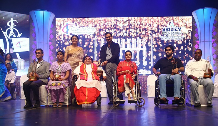 EXTRAORDINARY ACHIEVERS WITH DISABILITIES HONOURED