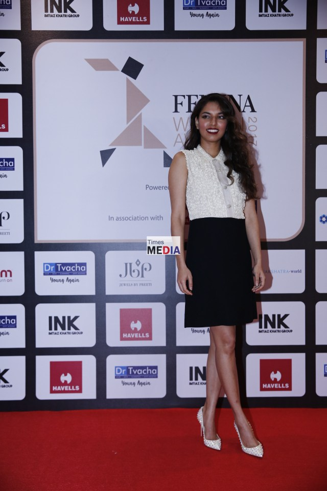 Manasi Kirloskar at Femina Women's Award 2017