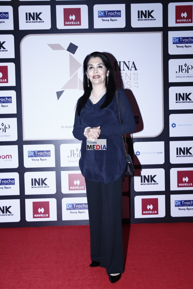 Tasneem Zakaria Mehta at Femina Women's Award 2017