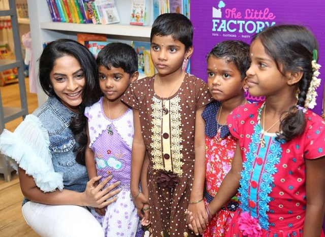 """Actress Sriya Reddy inaugurates The Little Factory"" – Exclusive Boutique for Children"