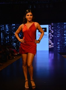 Model walking the Ramp for Love Generation at Bangalore Times Fashion week in Bengaluru on 7th October 2017 at JW Marriott_4